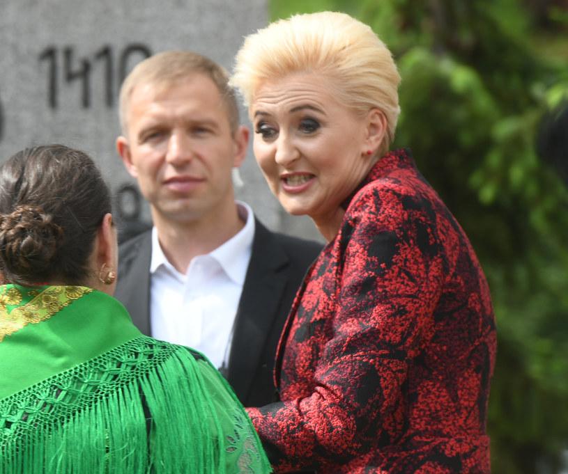 Agata Duda /Bartłomiej Jurecki /Agencja FORUM