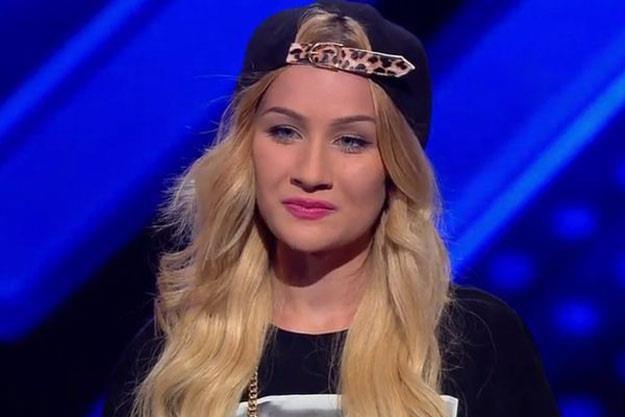 "Agata Dziarmagowska w ""X Factor"" /"