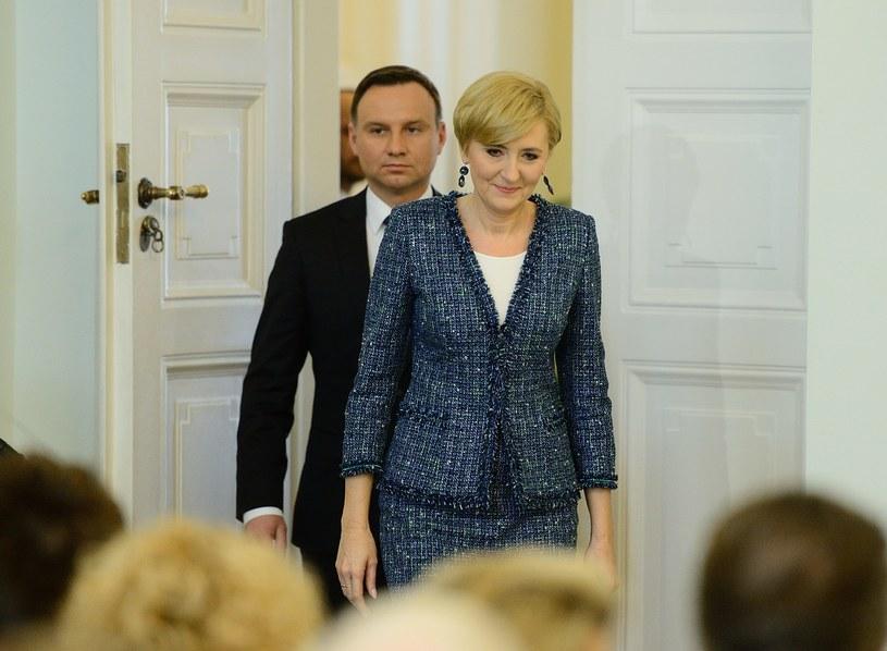 Agata i Andrzej Duda /- /MWMedia