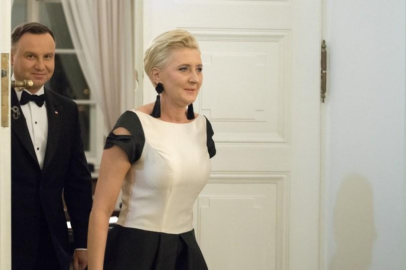 Agata i Andrzej Duda /fot. Andrzej Iwanczuk /Reporter