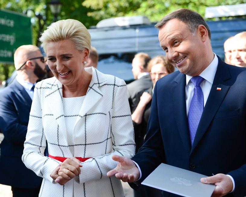 Agata i Andrzej Duda /Adam Staskiewicz/ /East News
