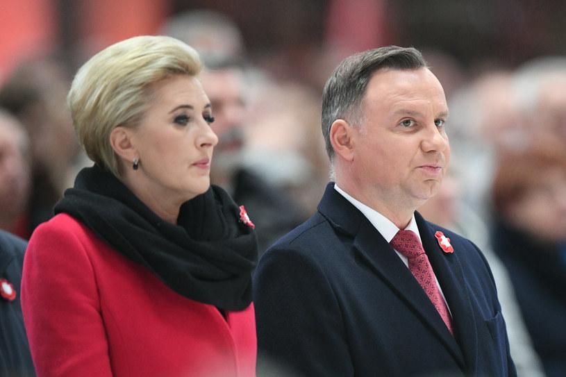 Agata i Andrzej Duda /Rafal Oleksiewicz /Reporter