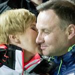 Agata i Andrzej Dudowie wspólnie kibicowali polskim skoczkom. Emocje były ogromne!