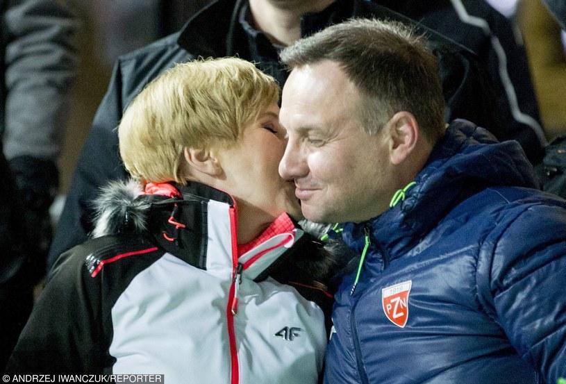 Agata i Andrzej Dudowie /Andrzej Iwańczuk /East News