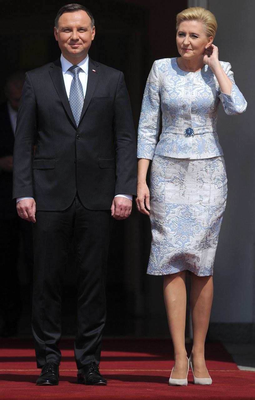 Agata i Andrzej Dudowie /Agencja FORUM