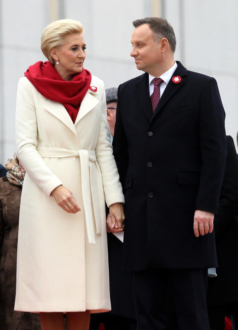 Agata i Andrzej Dudowie /East News