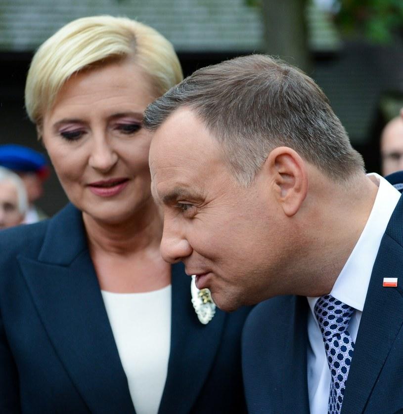 Agata i Andrzej Dudowie /    Adam STASKIEWICZ /East News