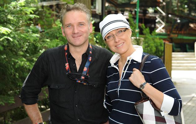 Agata i Jarek na festiwalu TopTrendy 2009, fot.Adam Kępiński  /MWMedia