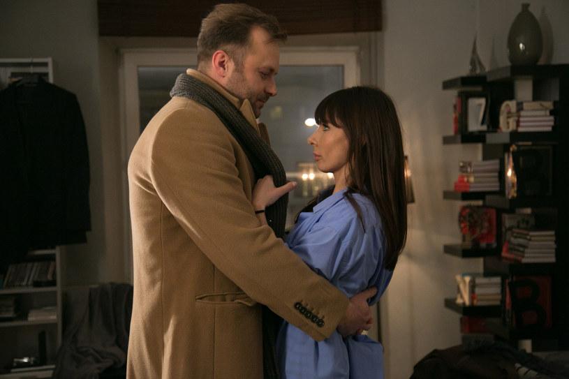 Agata i Marek w końcu będą tworzyć szczęśliwy związek! /x-news/ Agnieszka K. Jurek /TVN