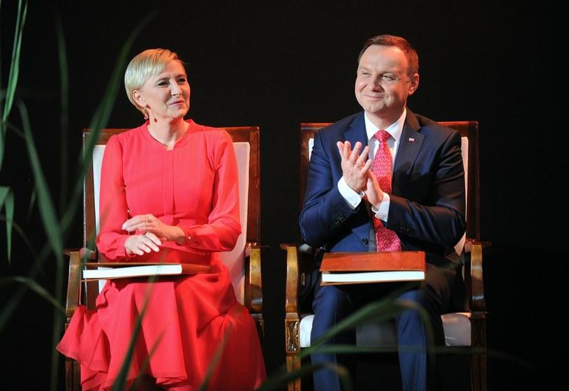 Agata Kornhauser-Duda, Andrzej Duda /Bartosz Krupa /East News