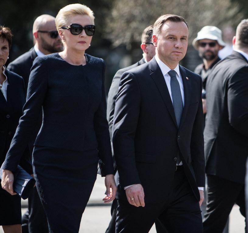 Agata Kornhauser-Duda, Andrzej Duda /Aleksandra Szmigiel /Reporter