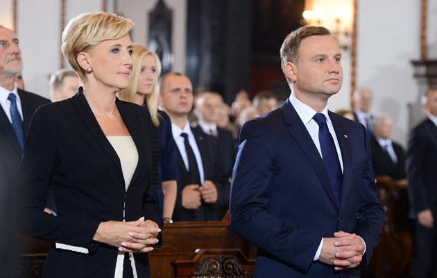 Agata Kornhauser-Duda i Andrzej Duda /Jarosław Antoniak /MWMedia