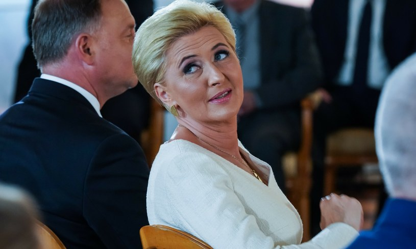 Agata Kornhauser-Duda jest Pierwszą Damą od 2015 roku /Jacek Domiński /Reporter