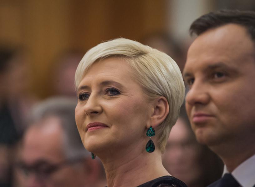 Agata Kornhauser-Duda jest z wykształcenia germanistką, wiele lat uczyła niemieckiego w jednym z krakowskich liceów /Jacek Domiński /Reporter