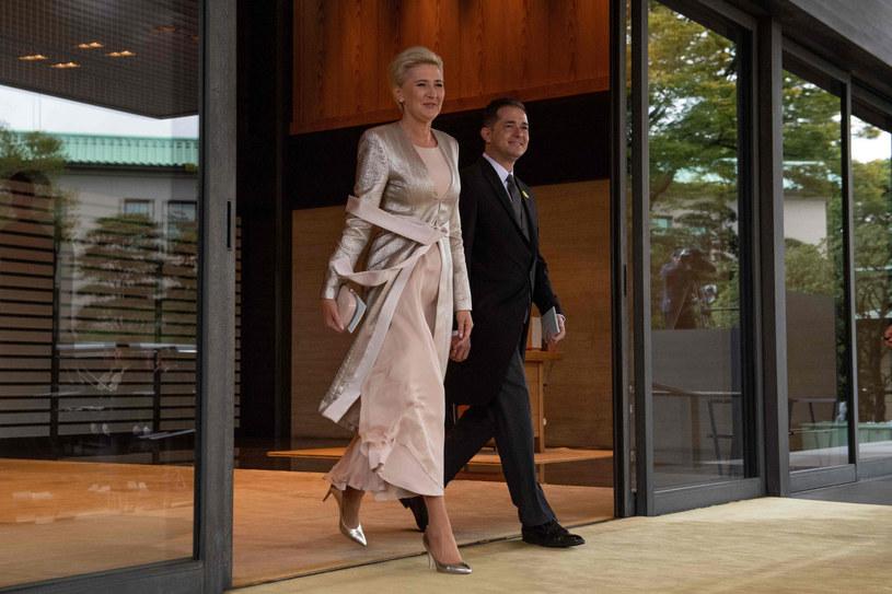 Agata Kornhauser-Duda w Tokio /Carl Court /East News