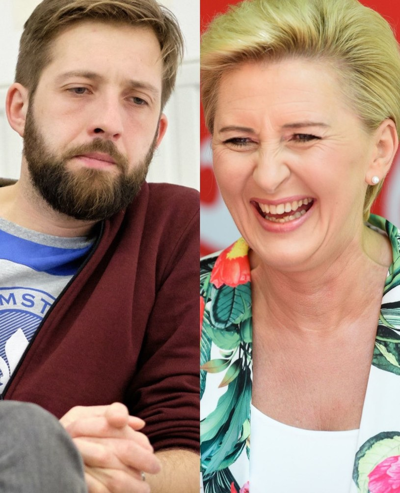 Agata Kornhauser Duda z i jej brat Jakub /East News /East News