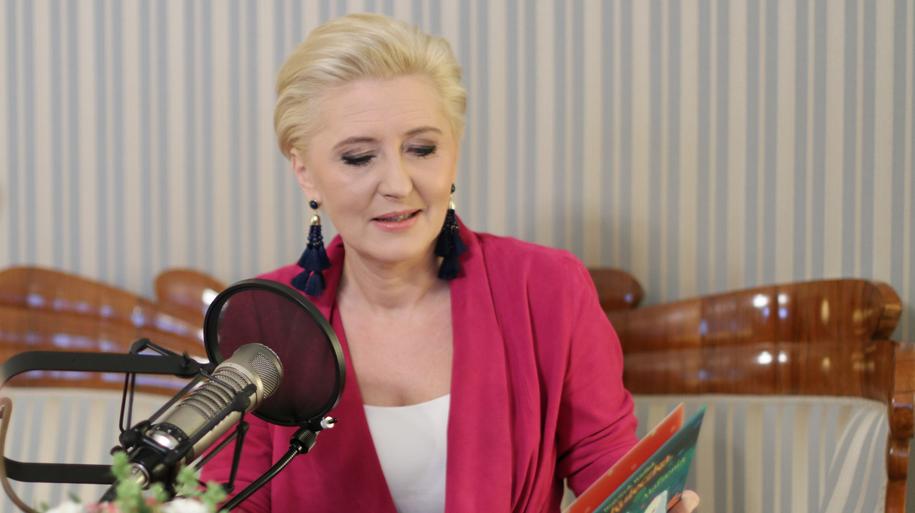 Agata Kornhauser-Duda, żona prezydenta Rzeczypospolitej Polskiej /Karolina Bereza, RMF FM