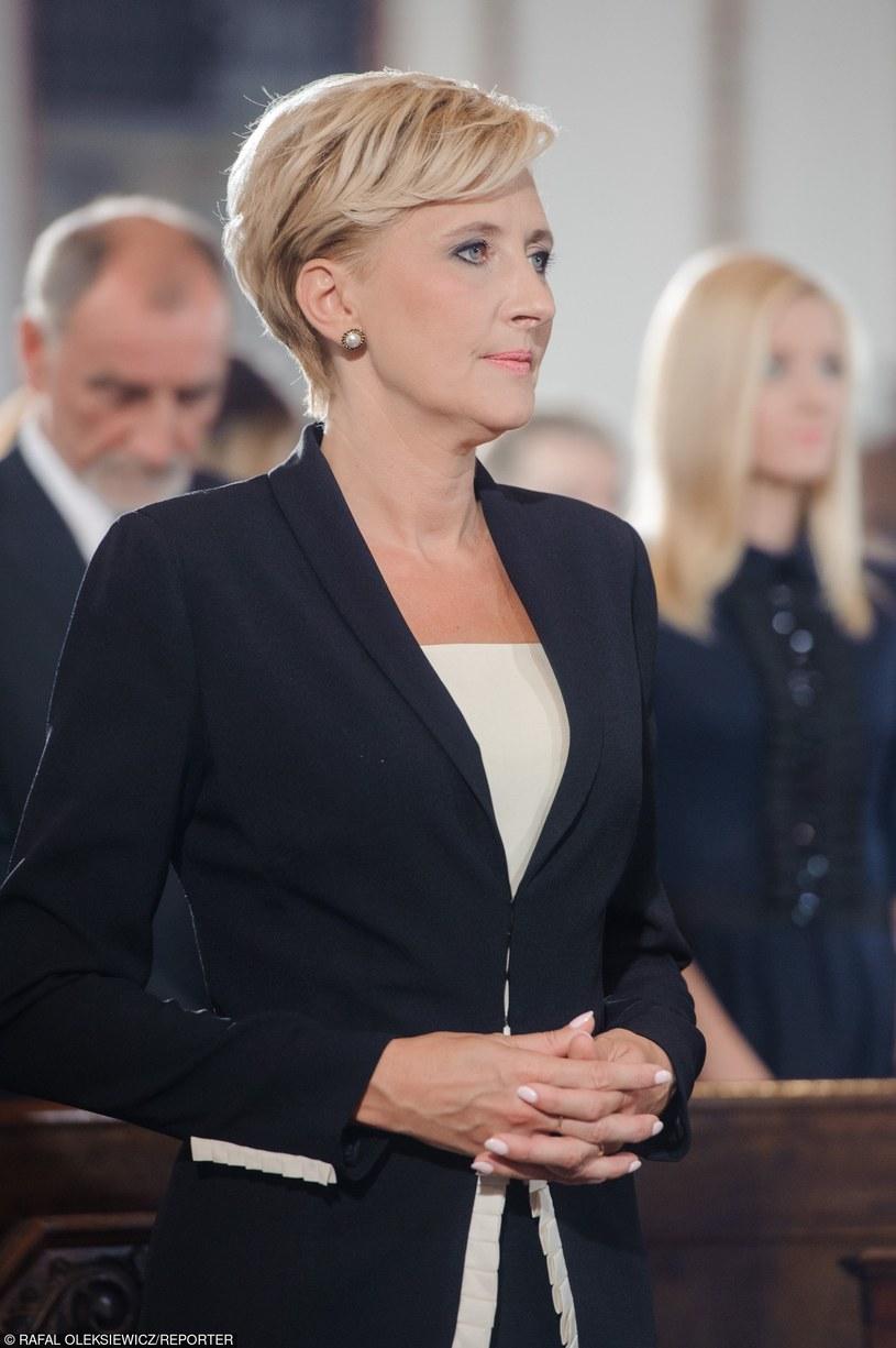 Agata Kornhauser-Duda /Rafał Oleksiewicz /Reporter