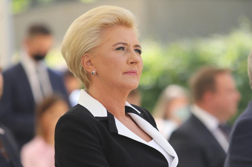 Agata Kornhauser-Duda /Tomasz Jastrzębowski /Reporter