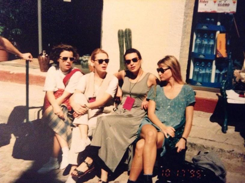 Agata Kulesza, Agnieszka Wosińska, Danuta Stenka i Małgorzata Kożuchowska 20 lat wcześniej /Facebook /internet
