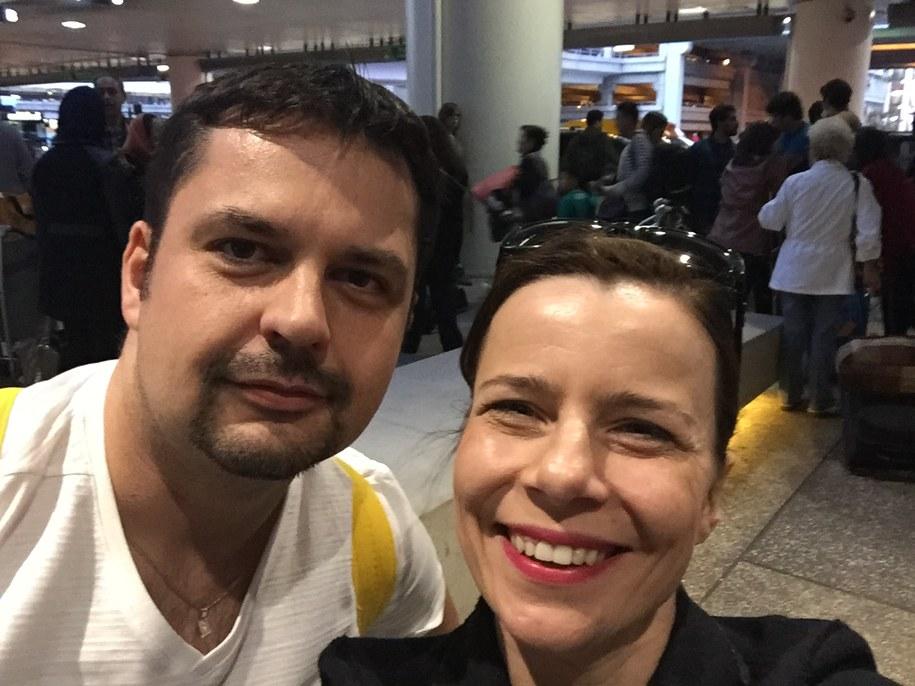 Agata Kulesza i Paweł Żuchowski /Paweł Żuchowski /RMF FM