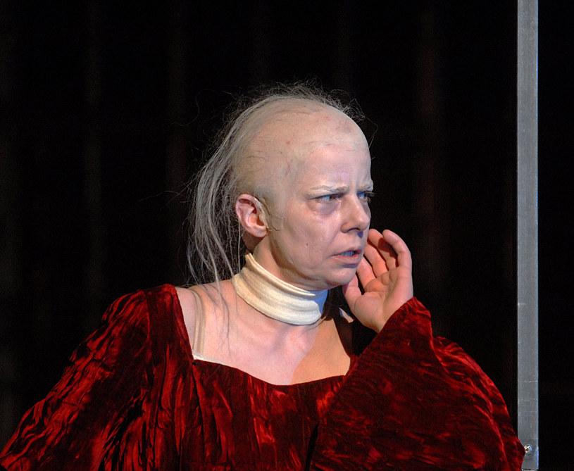 Agata Kulesza. Spektakl w Teatrze Ateneum /Marek Ulatowski /MWMedia