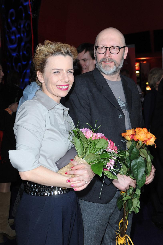 Agata Kulesza z Wojciechem Smarzowskim /Michał Wargin /East News