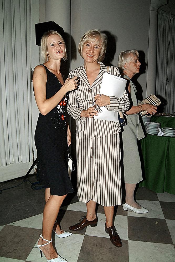 Agata Młynarska, 2003 rok /Niemiec /AKPA