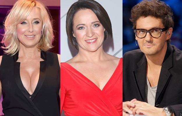 Agata Młynarska, Ewa Drzyzga i Kuba Wojewódzki prowadzą najpopularniejsze obecnie talk-show /AKPA