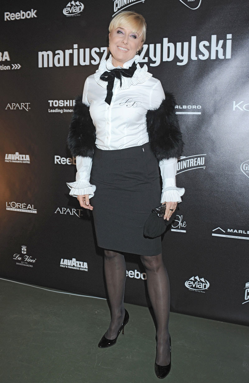 Agata Młynarska, fot. Andras Szilagyi  /MWMedia