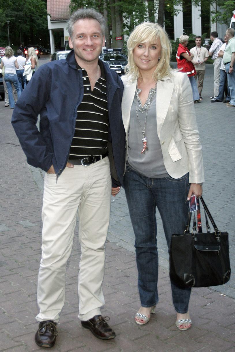 Agata Młynarska i Jarosław Kret 2007 rok /Baranowski /AKPA