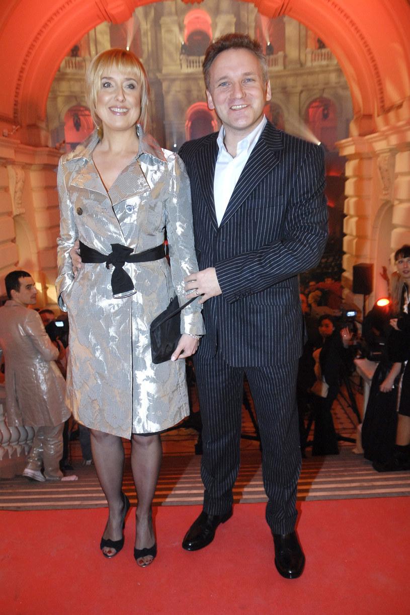Agata Młynarska i Jarosław Kret, 2007 rok /Kurnikowski /AKPA