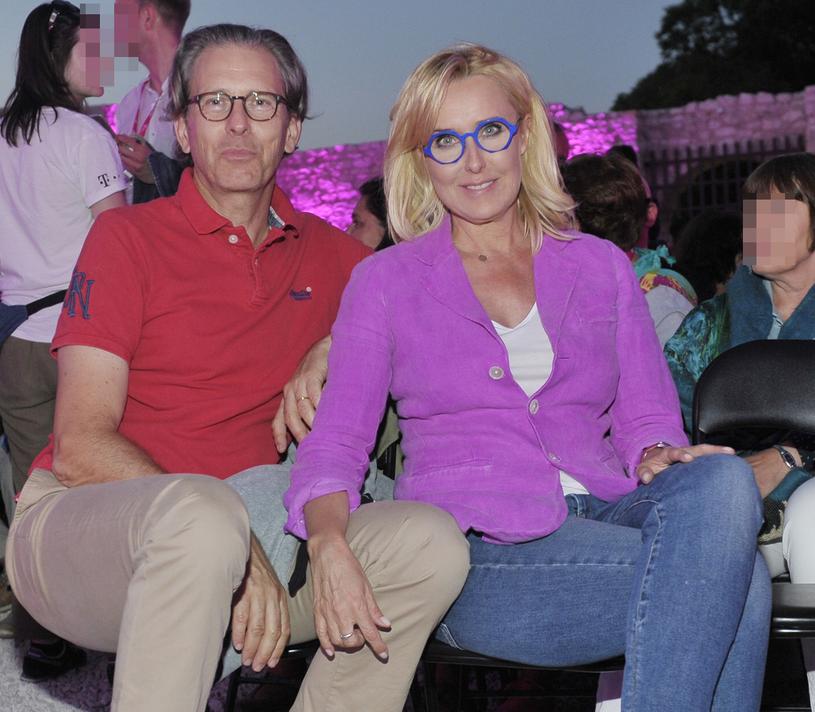 Agata Młynarska i Przemysław Schmidt /Niemiec /AKPA