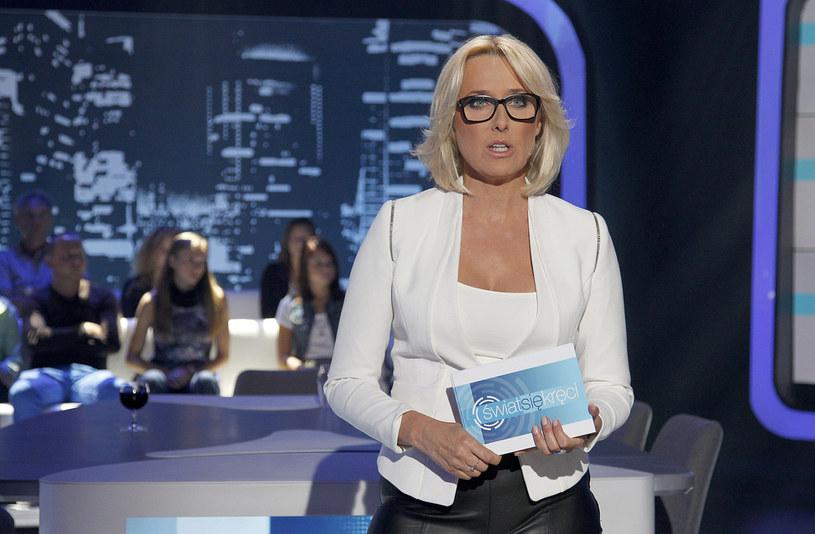 Agata Młynarska na planie swojego nowego programu /AKPA
