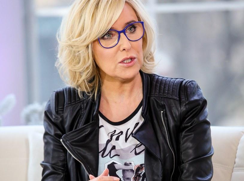 Agata Młynarska opisała w swoich mediach społecznościowych, co przeżyła na lotnisku /Krzysztof Kuczyk /Agencja FORUM