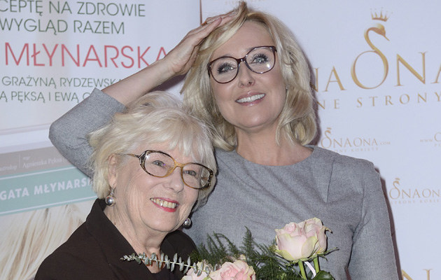 Agata Młynarska pogodziła się z mamą! /Jarosław Antoniak /MWMedia