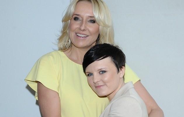 Agata Młynarska z córką /Szilagyi /MWMedia