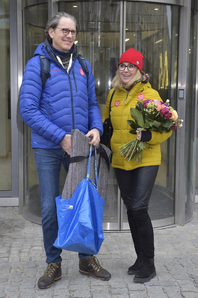 Agata Młynarska z mężem Przemysławem /Niemiec /AKPA