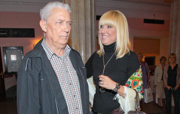 Agata Młynarska z ojcem /Paweł Przybyszewski /MWMedia