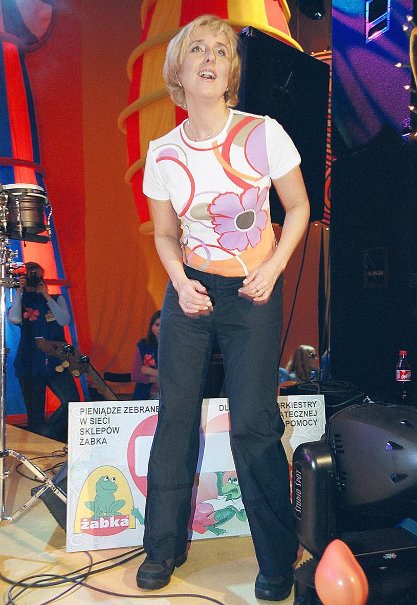Agata Młynarska, zdjęcie archiwalne /Zawada /AKPA