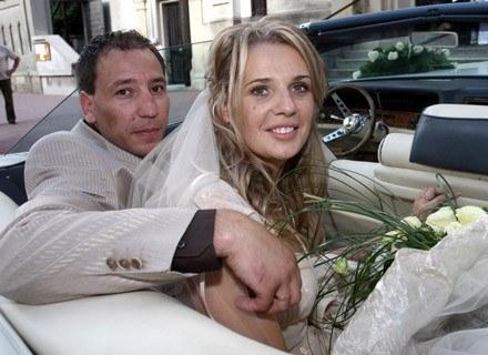 Agata Mróz i Jacek Olszewski 9 czerwca 2007/fot. Robert Szwedowski /Agencja SE/East News