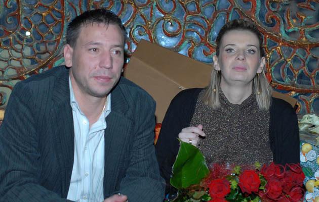 Agata Mróż-Olszewska z mężem /fot.Błażej Sendzielski