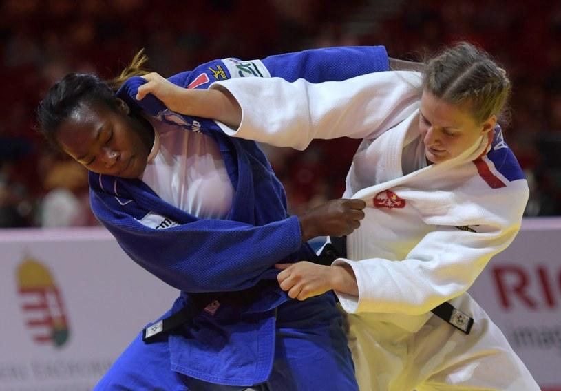 Agata Ozdoba w walce z mistrzynią świata Francuzką larisse Agbegnenou /AFP