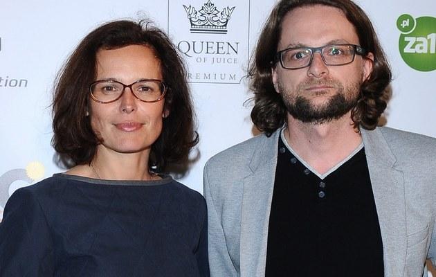 Agata Passent i Wojciech Kuczok /- /MWMedia