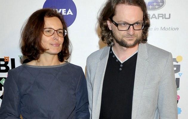 Agata Passent i Wojciech Kuczok /- /AKPA