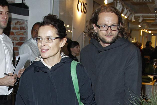 Agata Passent, Wojciech Kuczok /Engelbrecht /AKPA