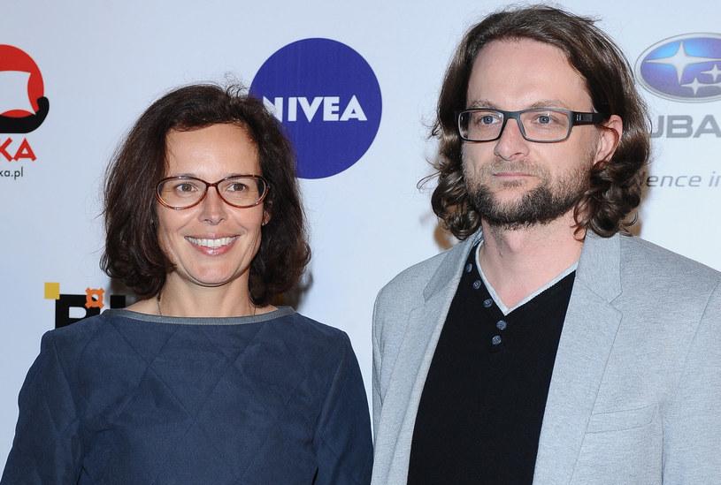 Agata Passent, Wojciech Kuczok /Andras Szilagyi /MWMedia