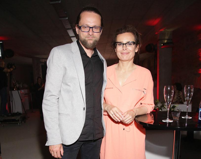 Agata Passent, Wojciech Kuczok /Luka Lukasiak /Agencja FORUM