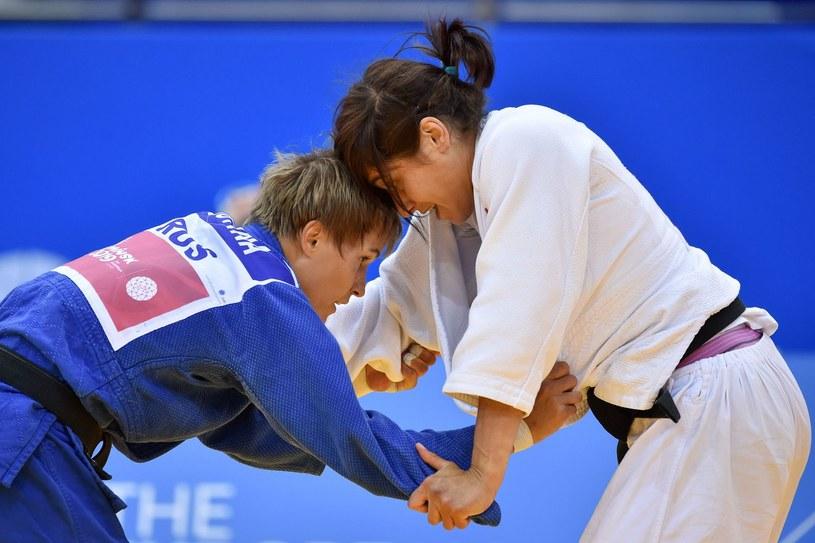 Agata Perenc (z prawej) /AFP