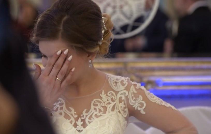 Agata również nie kryła rozczarowania swoim mężem /TVN /TVN